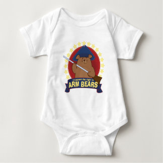 The Right to Arm Bears. Baby Bodysuit