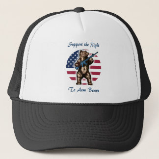 The Right to Arm Bears Trucker Hat
