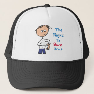 The Right To Bare Arms Trucker Hat