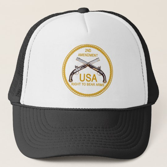 The Right To Bear Arms 3 Trucker Hat