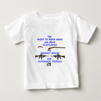 The right to bear arms baby T-Shirt
