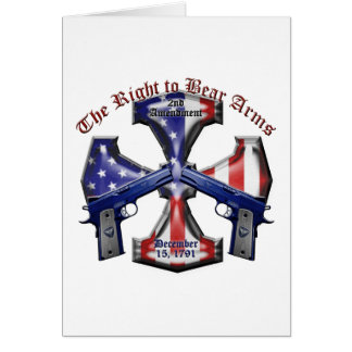 The Right To Bear Arms Card