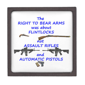 The right to bear arms gift box