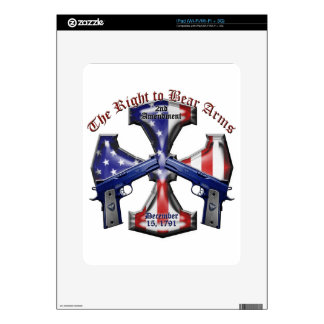 The Right To Bear Arms iPad Skin