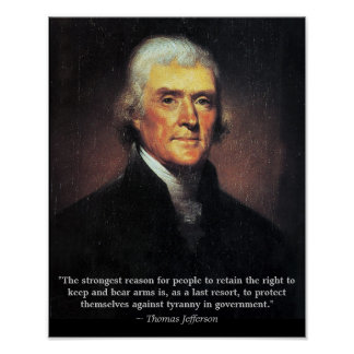 The Right to Keep and Bear Arms Poster