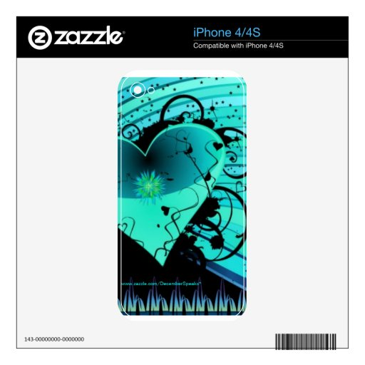The right to love iPhone 4S decal