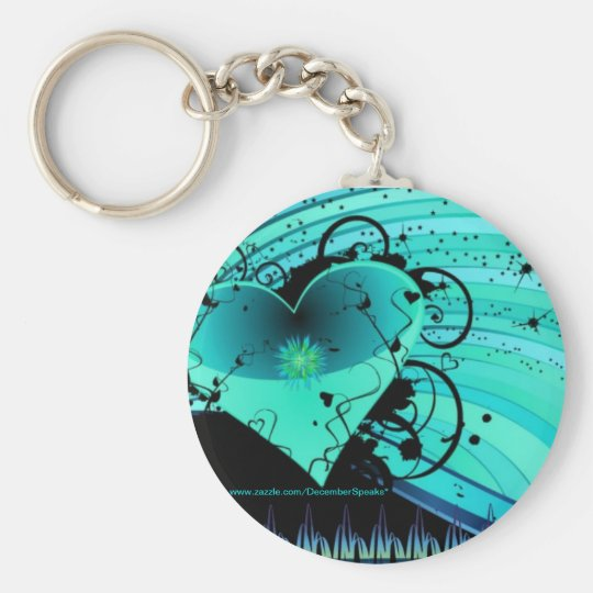 The right to love keychain