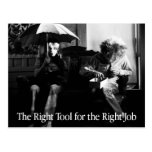 The Right Tool postcard
