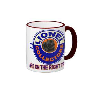 The Right Track Ringer Coffee Mug
