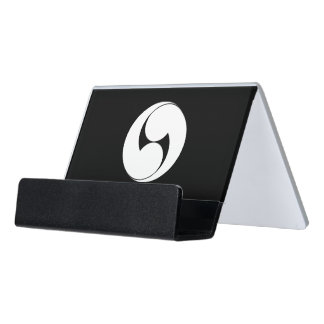 The right two 巴 (area pulling out) desk business card holder