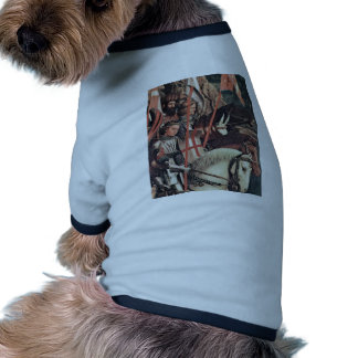 The Righteous Knights (Copy) Detail By Eyck Hubert Pet Tee Shirt