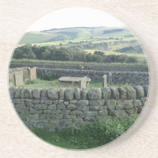 The Riley Graves near Historic Eyam in Derbyshire Drink Coaster