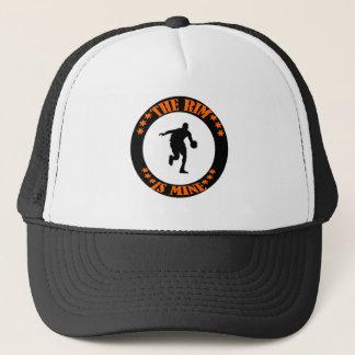 THE RIM IS MINE TRUCKER HAT