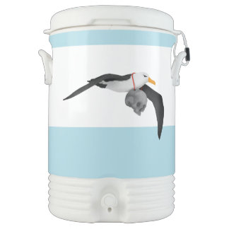 The Rime of the Ancient Mariner Albatross Beverage Cooler