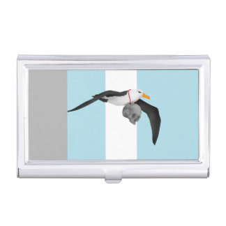 The Rime of the Ancient Mariner Albatross Business Card Case