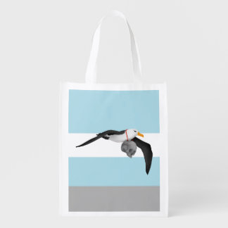 The Rime of the Ancient Mariner Albatross Grocery Bag