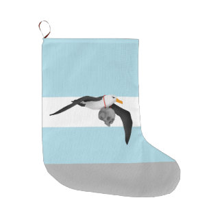 The Rime of the Ancient Mariner Albatross Large Christmas Stocking