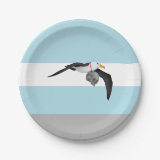 The Rime of the Ancient Mariner Albatross Paper Plate