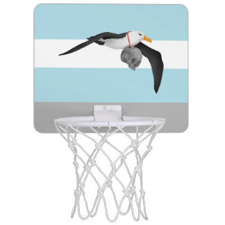 The Rime of the Ancient Mariner Albatross Skull Mini Basketball Hoop