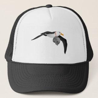 The Rime of the Ancient Mariner Albatross Skull Trucker Hat