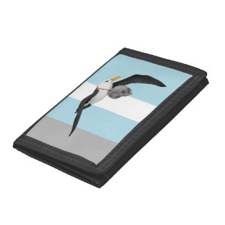 The Rime of the Ancient Mariner Albatross Tri-fold Wallets