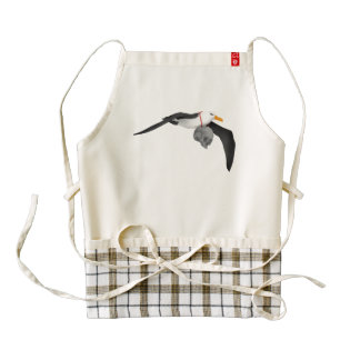 The Rime of the Ancient Mariner Albatross Zazzle HEART Apron