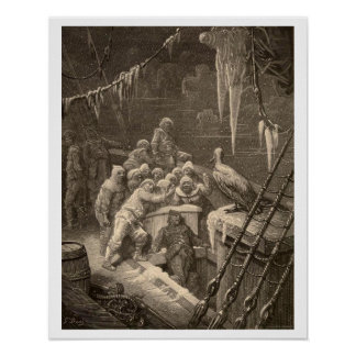 """The Rime of the Ancient Mariner poster 16""""x20"""""""