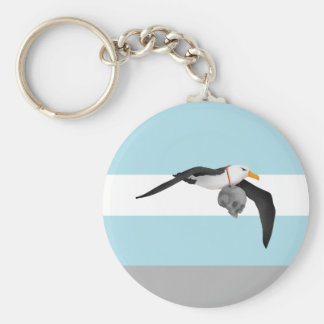 The Rime of the Ancient Mariner Remix Albatross Keychain