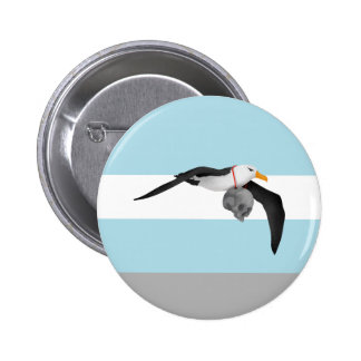 The Rime of the Ancient Mariner Remix Albatross Pinback Button