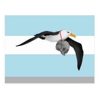 The Rime of the Ancient Mariner Remix Albatross Postcard