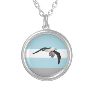 The Rime of the Ancient Mariner Remix Albatross Silver Plated Necklace