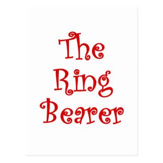 The Ring Bearer Postcard