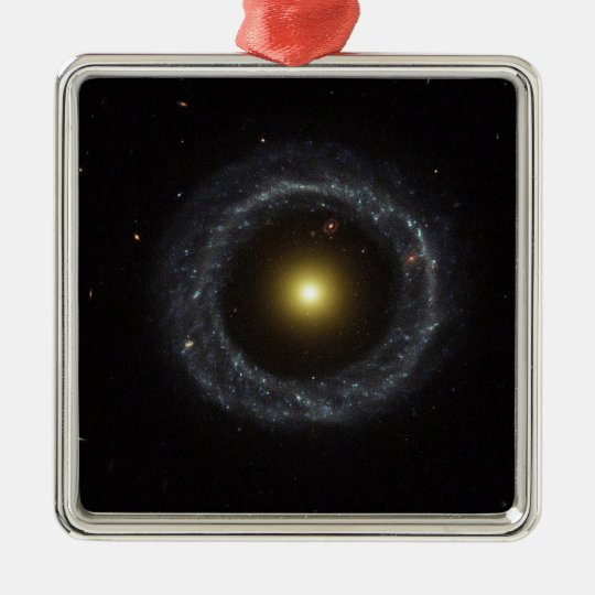 The ring galaxy torch light metal ornament