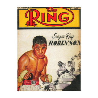 The Ring Magazine Cover 2 Canvas Print