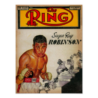 The Ring Magazine Cover 2 Poster