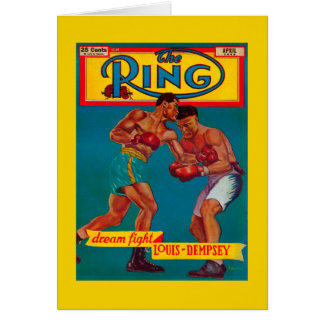 The Ring Magazine Cover Card