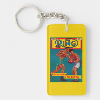 The Ring Magazine Cover Keychain