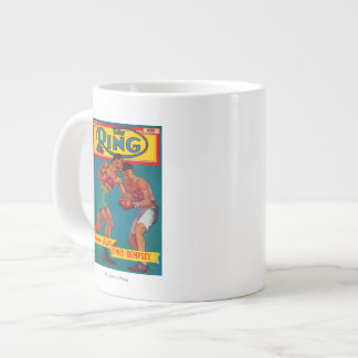 The Ring Magazine Cover Large Coffee Mug