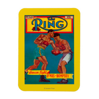 The Ring Magazine Cover Magnet
