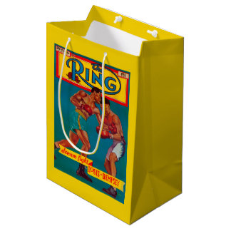 The Ring Magazine Cover Medium Gift Bag