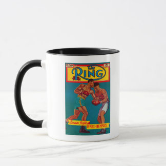 The Ring Magazine Cover Mug