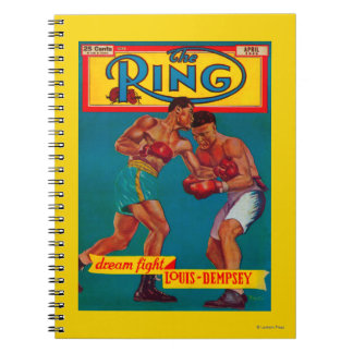 The Ring Magazine Cover Notebook