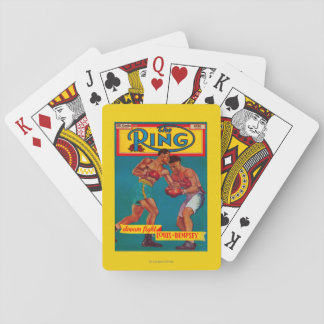 The Ring Magazine Cover Playing Cards