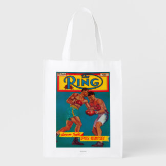 The Ring Magazine Cover Reusable Grocery Bag