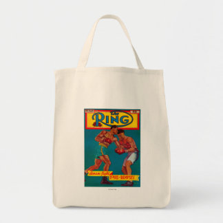 The Ring Magazine Cover Tote Bag