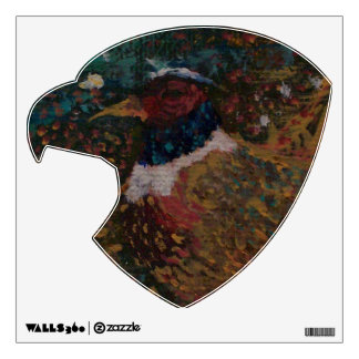 The Ring Neck Pheasant Wall Decal