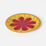 The Ring of Fire 7 Inch Paper Plate