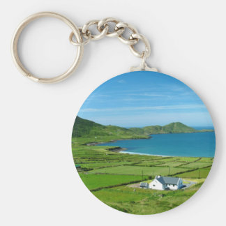The Ring of Kerry Basic Round Button Keychain