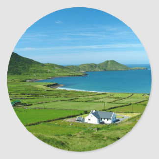 The Ring of Kerry Classic Round Sticker