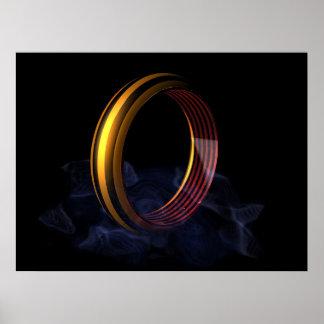 The ring & smoke poster